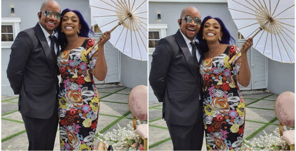 Davidos Sister, Sharon Dashes Hope Of Husbands Admirers As She Takes Over His IG Comment Section