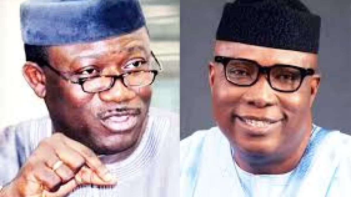 Fayemi Tackles Ojudu Over Report Of 'Failed Mission' To Presidential Villa