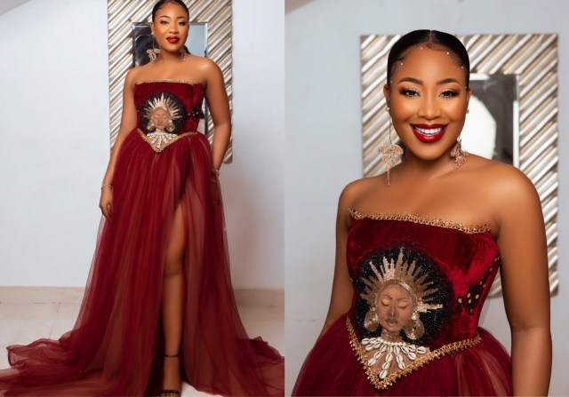 Neo Reacts As Erica Shows Off Her Look To The #Headies Award