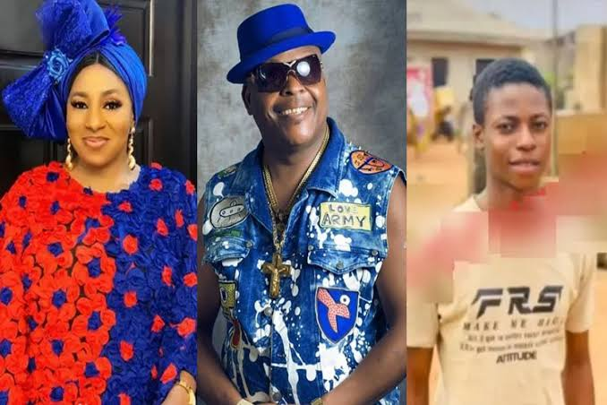 Mide Martins, Sir Shina Peters and Damilare Peters