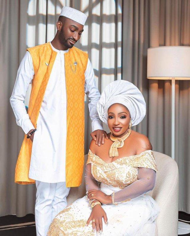 Anita Joseph and her husband, MC Fish