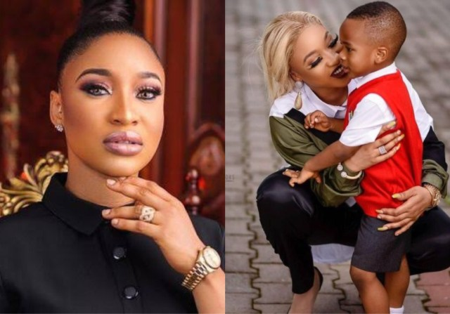 """I Killed Motherhood Better Than You"" – Tonto Dikeh Tells Late Mum"