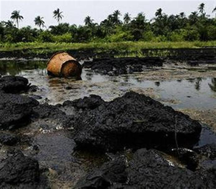 polluted ogoni land