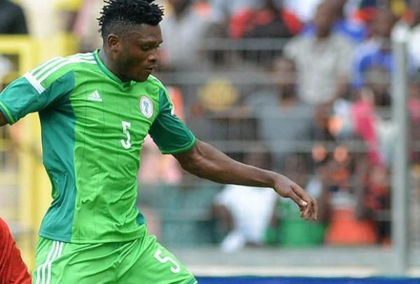 Aaron Samuel Has Scored Two Goals After Three Nigeria Caps. Image: AFP.