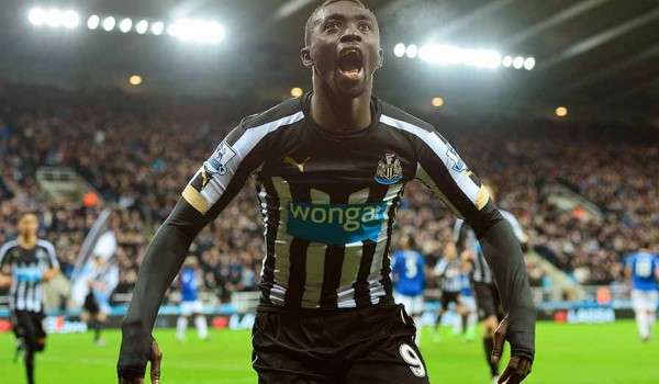 Papiss Cisse Sccored His Fifth Goal in as Many as Six Matches Against Everton. Image: Getty.