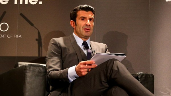 Luis Figo Wanted Televised Fifa Presidential Debate. Image: Paul Gilham/Getty.