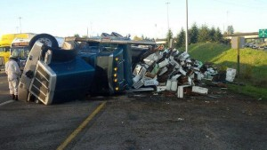 Washington-truck-crash-releases-millions-of-bees