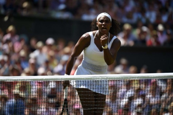 Serena Williams Beats Garbine Muguruza to Clinch Her Sixth Wimbledon Title. Image: AELTC.