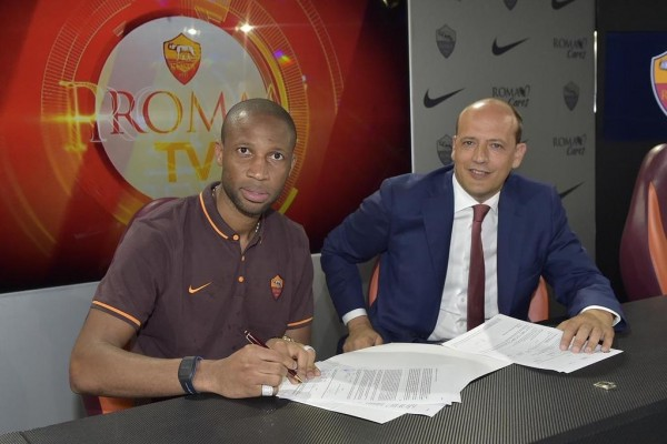 Seydou Keita Scored Twice in His First Serie A Season. Image: Roma.