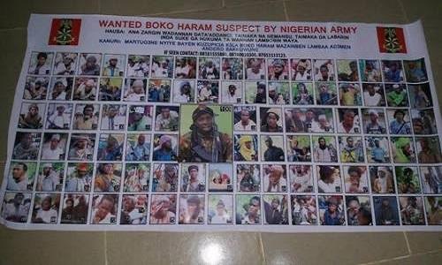 Wanted Boko Haram