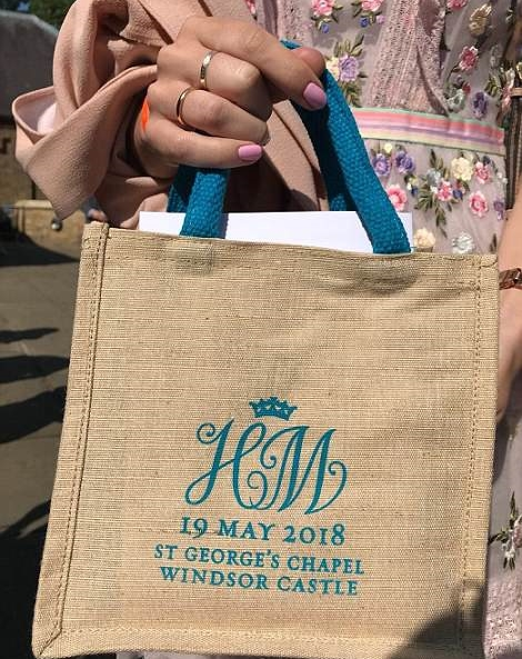 Royal Wedding Guest Sells Her Gift Bag On Ebay For Over 21 000 Find Out Its Unique Contents Photos Information Nigeria