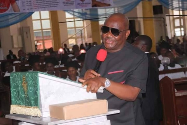 Rivers state governor