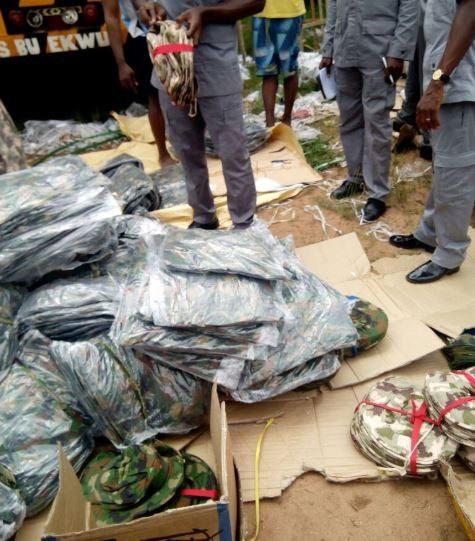 Nigerian customs intercepts