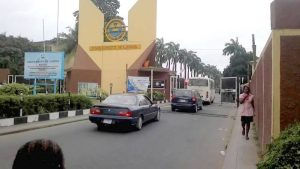 Entrance gate of Unilag
