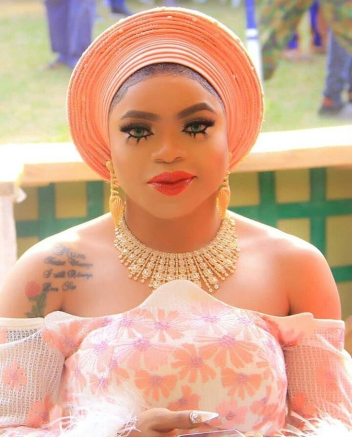 Why Funke Akindele Would Never Kiss or Call Bobrisky Her Best Friend - Actor Reveals