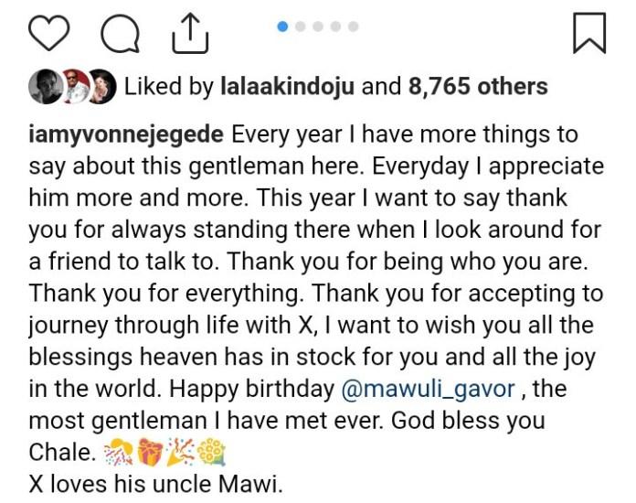 Yvonne drags troll over mawuli Gavor