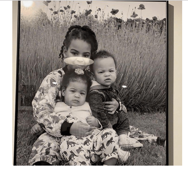 [Photo]: Beyonce shares adorable new photo of her kids