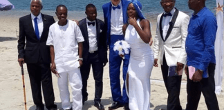 Nigerian Lady And An Elderly White Man Tie The Knot In Lagos