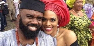 """""""I'm proudly Igbo""""- Noble Igwe Shares Lovely Photo With Wife, Chioma"""