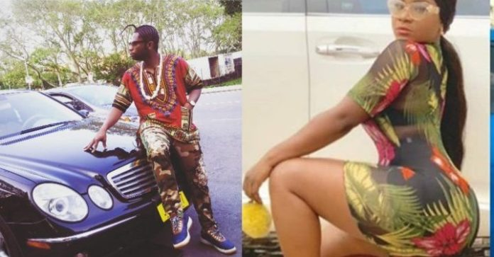 'Is this real or fake?'- Speed Darlington drags actress Destiny Etiko over her ass