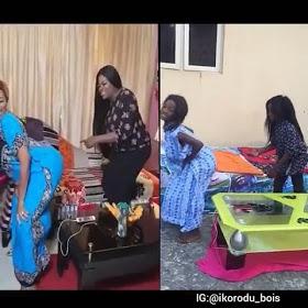 Ikorodu Bois Recreate Funke Akindele's Twerking Video