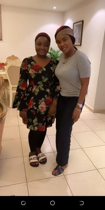 Iyabo Ojo and Mompha's wife