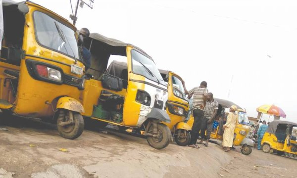 Anambra state government banns tricycle form operating in the state