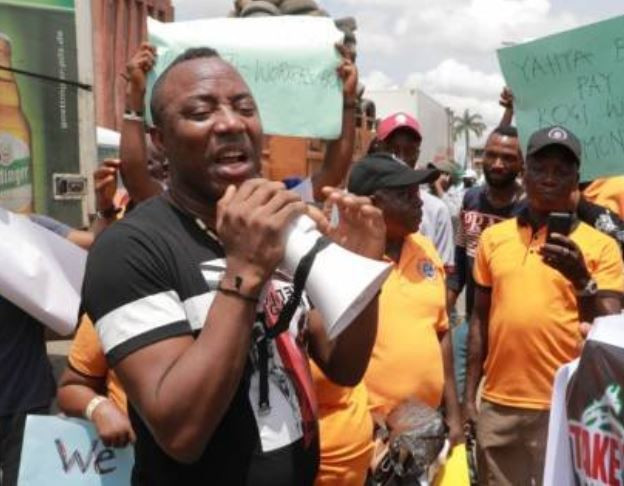 #FreeSowore: Nigerians Call President Buhari Out Over The Arrest Of Omoyele Sowore