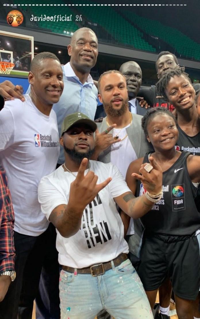 Davido, Jidenna and the NBA players