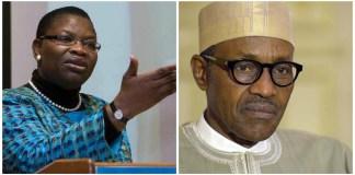 Oby Ezekwesili and Buhari