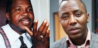 Mike Ozekhome and Omoyele Sowore
