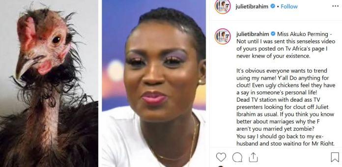 Juliet Ibrahim's post