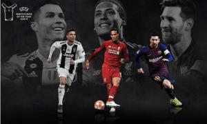 Ronaldo, Messi Van Dijk