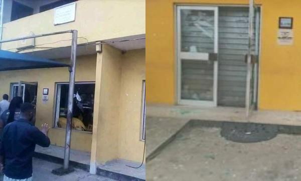 MTN Office In Uyo Attacked
