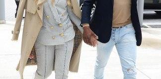 David Oyefeso and Tamar Braxton