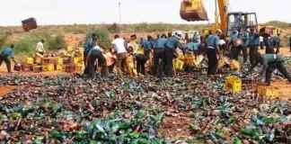 Kano Hisbah destrop alcohol