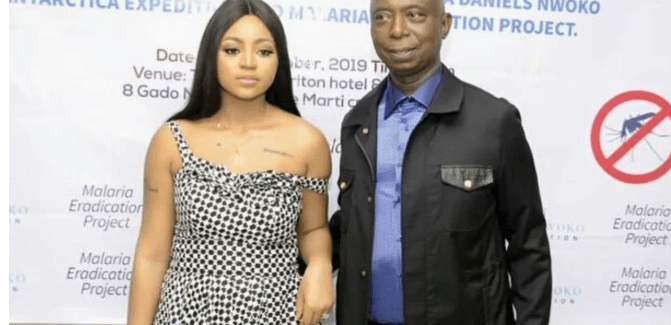 Video: Regina Daniels Shows Off Bag Her Senior Wife Bought For Her