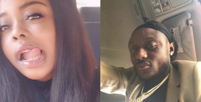 Terry G and his baby mama, Mimi Omoregbe