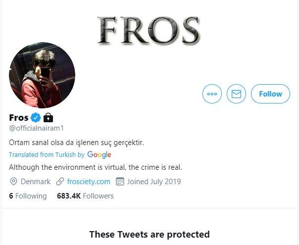 Naira Marley's Twitter account