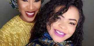 Nollywood actresses, Fathia Balogun and Dayo Amusa