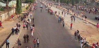 Lagosians trek to work after Okada ban
