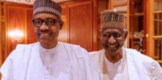 Muhammadu Buhari and Abba Kyari
