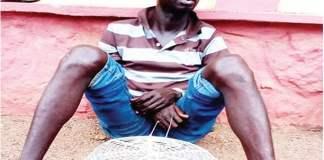 The suspect, Olanrewaju Adeyinka