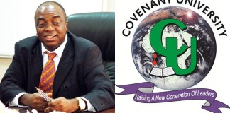 Bishop Oyedepo and Covenant Univeristy Logo