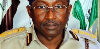 Immigration boss, Muhammed Babandede