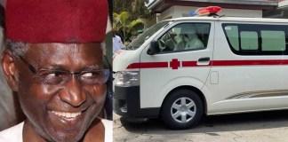 Abba Kyari's body arrives Abuja