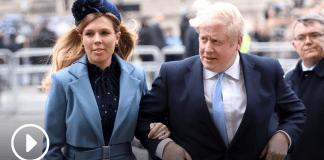 Boris Jonson and Fiancee
