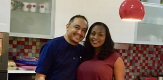 Daddy Freeze and his girlfriend