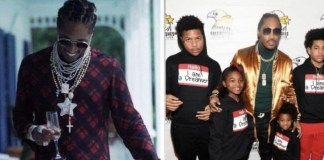 Future and his kids