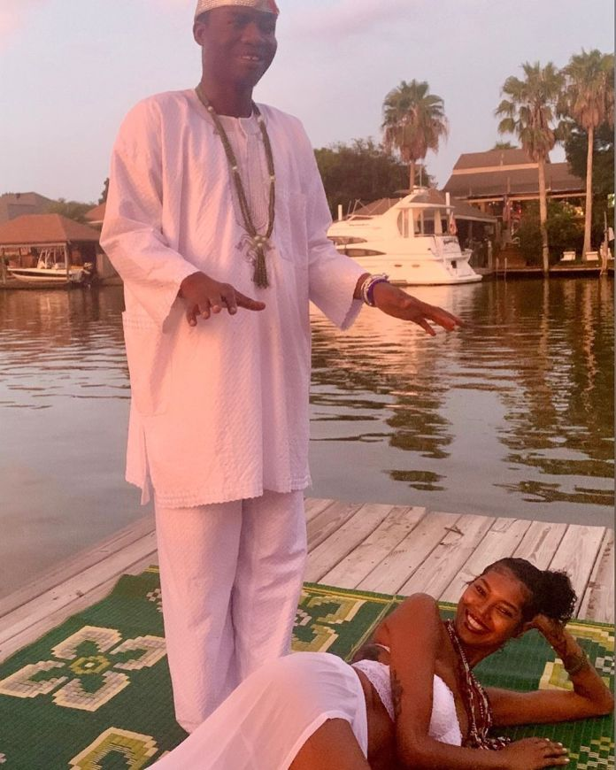 Jessica White and the Ifa Priest